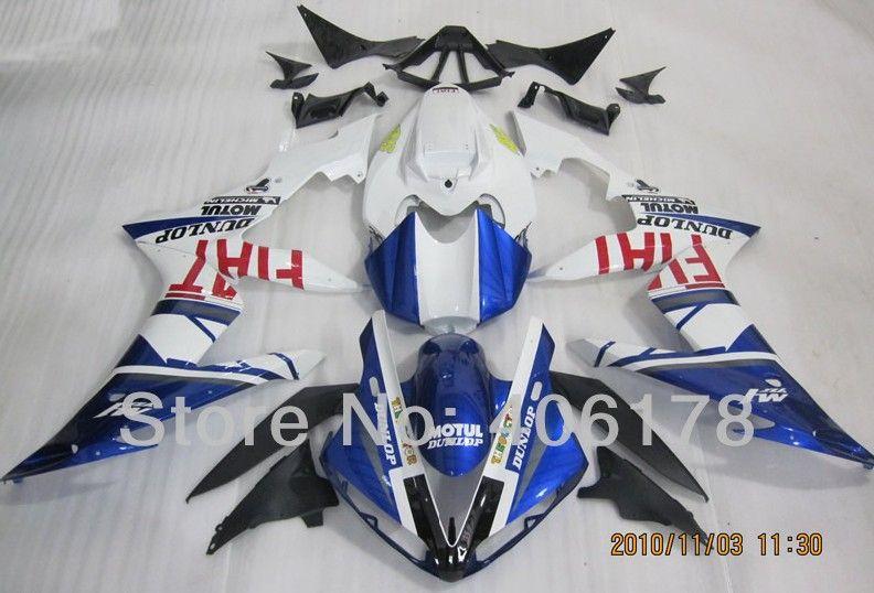 Heiße Verkäufe, Kundenspezifische Yzf 1000 R1 04-06 verkleidungen Für Yamaha Yzf R1 2004-2006 Rennrad Neue FIAT Body kits (spritzguss)