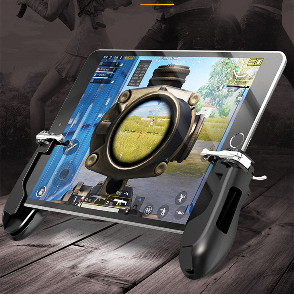 FPS Mobile Game Controller Tablet Gamepad Sensitive Shoot Aim Trigger Button Handle for Knives Out for Rules of Survival