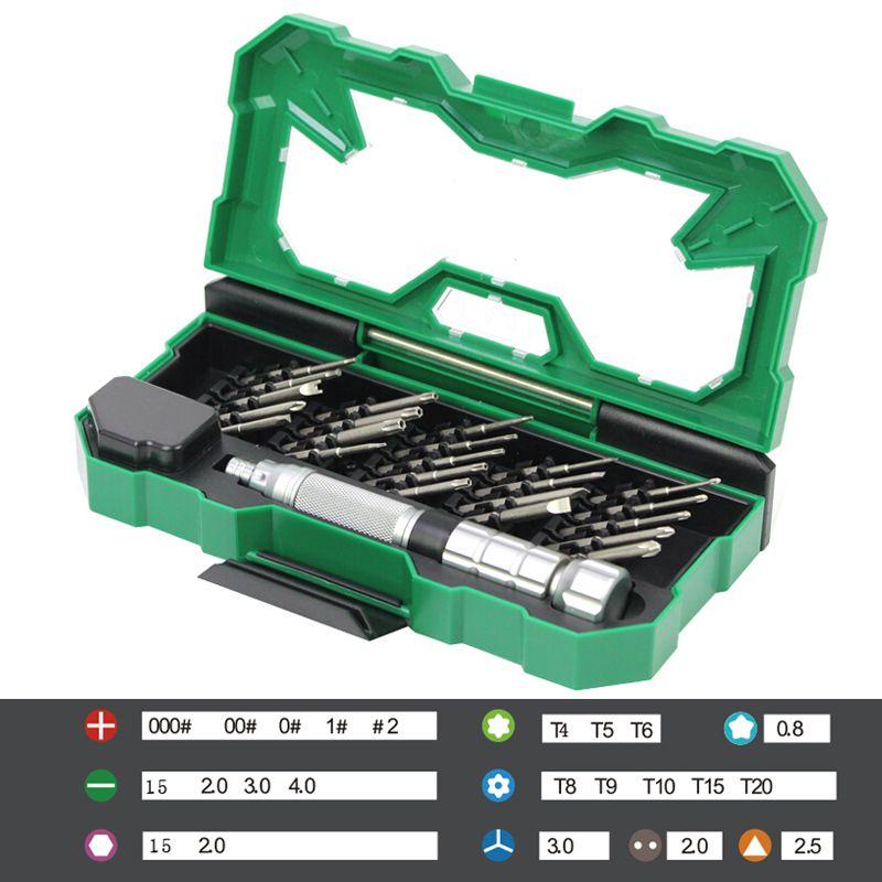LAOA 25 dans 1 Précision Jeu de Tournevis Magnétique Tournevis bits Pour Iphone Ordinateur Portable Mobile Téléphone Cellulaire Téléphones Outil De Réparation Kits