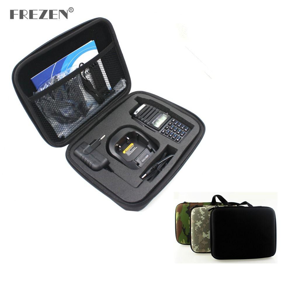 Two Way Radio Case Handbag Portable Storage Hand Carry For BAOFENG UV-82 UV-8D Motorola GP328 Walkie Talkie Bag Launched Hunting