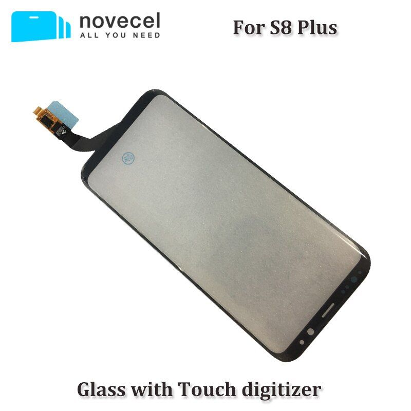 Novecel OEM G965F Touch screen Glass with Touch digitizer panel assembled For Samsung S8 Plus touch screen replace