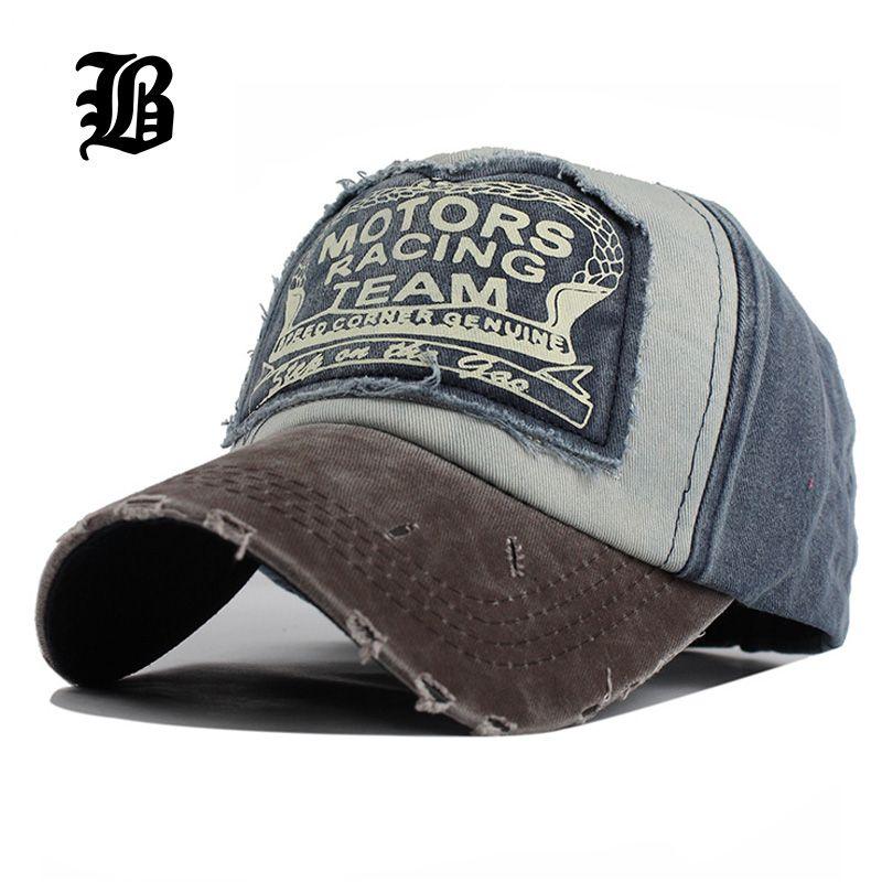 [FLB] 2 pièces style vente unisexe chapeaux pour hommes femmes meulage multicolore gorras coton snapback chapeaux lavage casquette été Hip Hop casquettes
