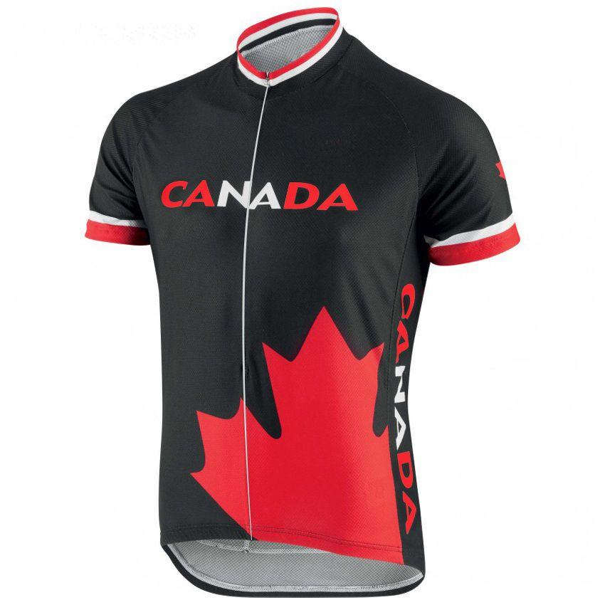 Canada cycling jersey bike wear black men short maillot molteni clothing ropa ciclismo Mountain outdoors Bicicleta Career team