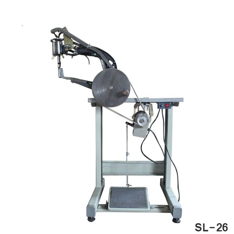 Professionelle SL26 Manuelle Schuh Rand Reparatur Ausbessern Maschine Obolique Nadel Schuh Nähmaschine Nähen Die Leder Schuhe