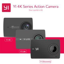 Yi 4 К действие Камера Ambarella a9se75 международное издание xiaoyi спортивные Камера 2.19