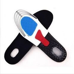 Silikon Sepatu Sol Gratis Ukuran Pria Women Orthotic Arch Penopang Olahraga Sepatu Pad Lembut Berjalan Insert Cushion