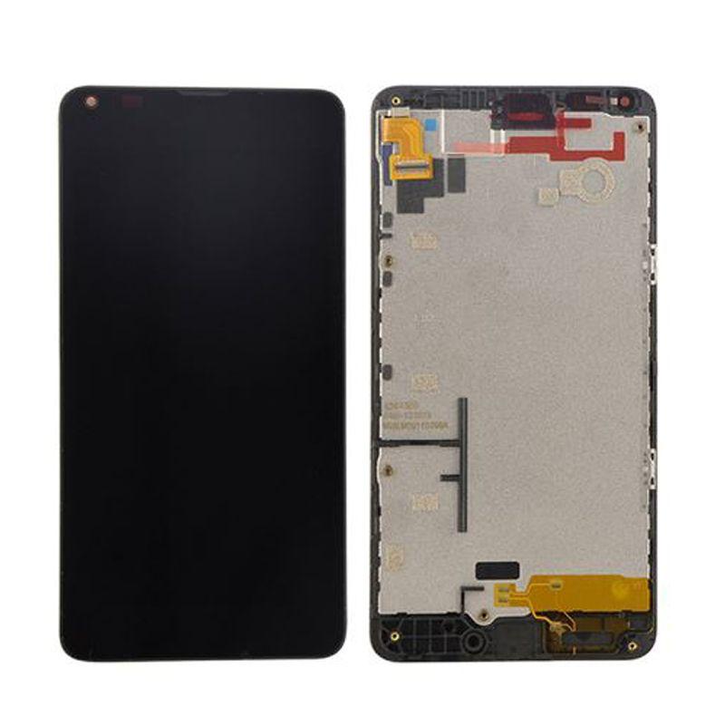 D'origine Pour Microsoft Nokia Lumia 640 Écran lcd avec Écran Tactile Digitizer Assemblée avec cadre Livraison Gratuite