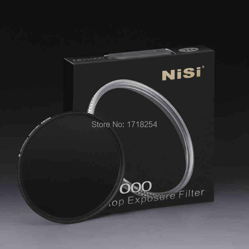 NiSi 82mm ND1000 Ultra Thin Neutral Density Filter 10 Stop for Digital SLR Camera ND 1000 82 mm Slim Lens Filters