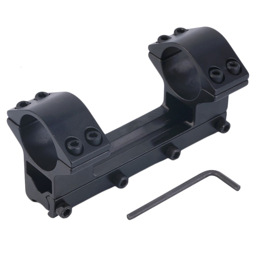 Integrierte Ring Runde Top Schwalbenschwanz Taschenlampe Zielfernrohrmontage 11mm Schiene kostenloser versand