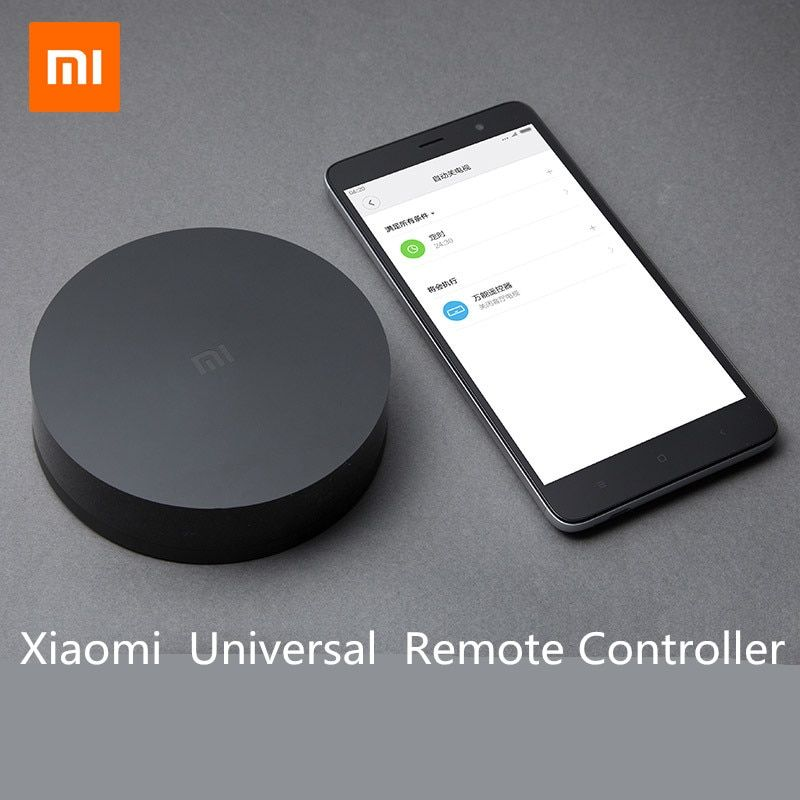 Original Xiaomi Mi Universal Intelligent Smart Remote Controller WIFI+IR Switch 360degree Smart Home <font><b>Automation</b></font> Mi smart sensor
