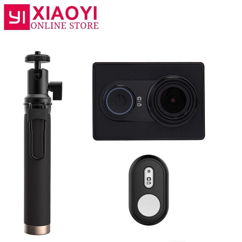 Новый оригинальный Xiaomi Yi Action Sports Камера xiaoyi Wi-Fi Действие CAM 3D Шум снижение 16mp 60fps Ambarella международное издание
