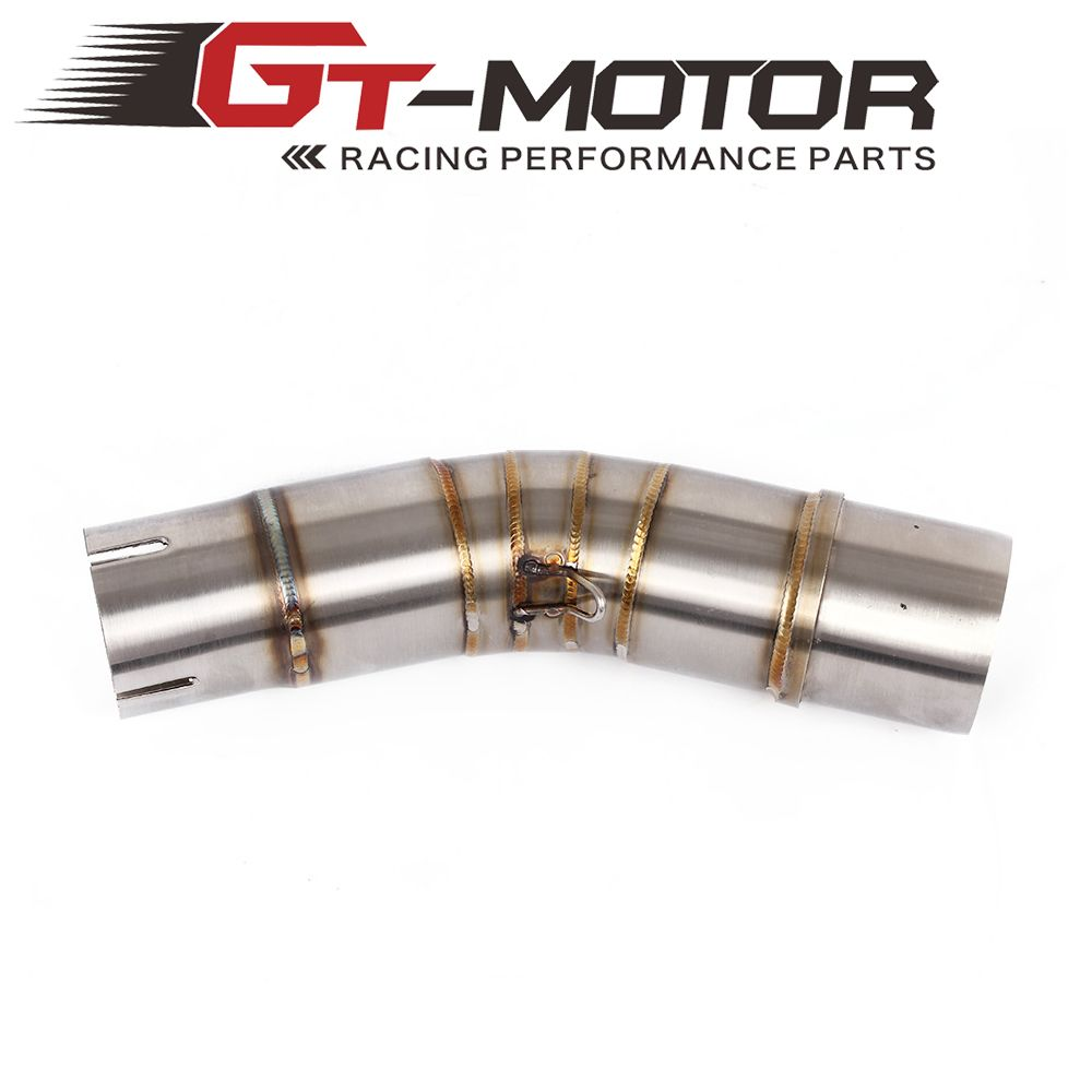 GT Motor - Motorcycle Exhaust middle pipe for SUZUKI GSX250R without exhaust Slip-On
