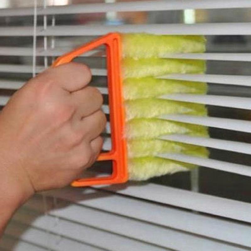 Reiniger Pinsel Jalousien Pinsel Klimaanlage Duster Reiniger Shutter Staub Reinigungsbürste Haushalt Werkzeug