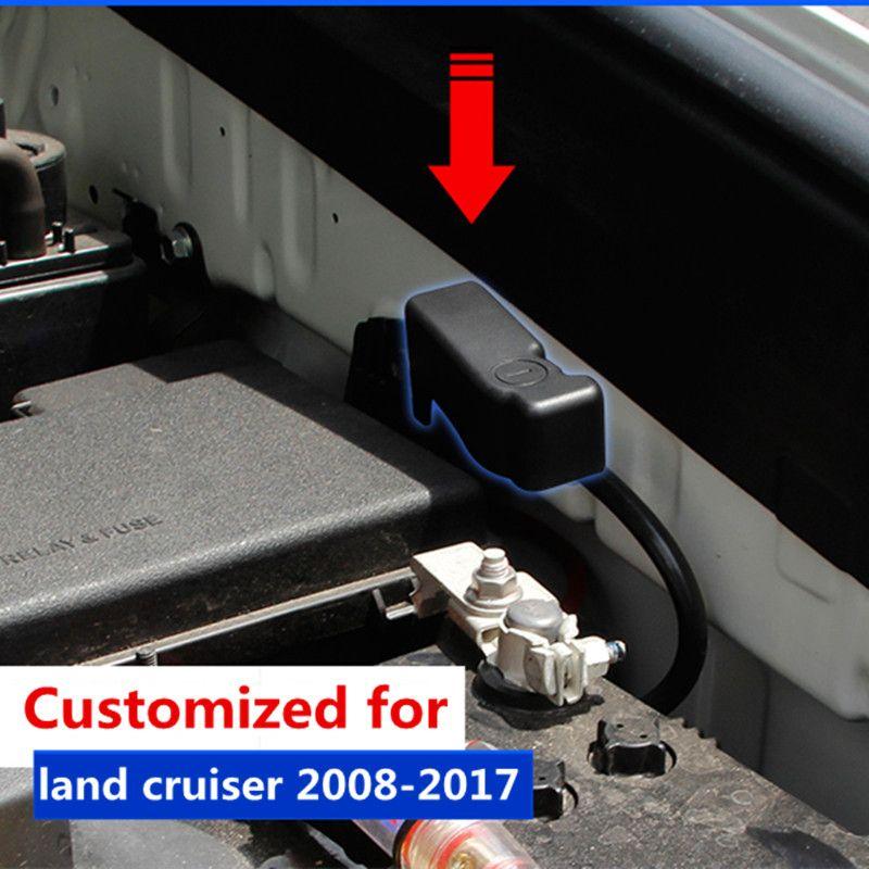 Автомобиль Батарея оптопары Защитная крышка для Toyota Land Cruiser Prado FJ 150 J200 Интимные аксессуары 2010 2011 2012 2013 2014 2015 2016 2017