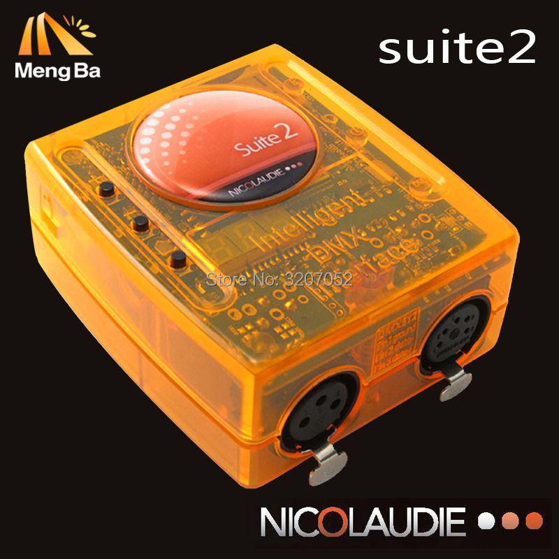 Sunlite Suite 2 First Class USB DMX interface Stage lighting software 1536 Channel Sunlite Dmx FC Controller good for dj satge