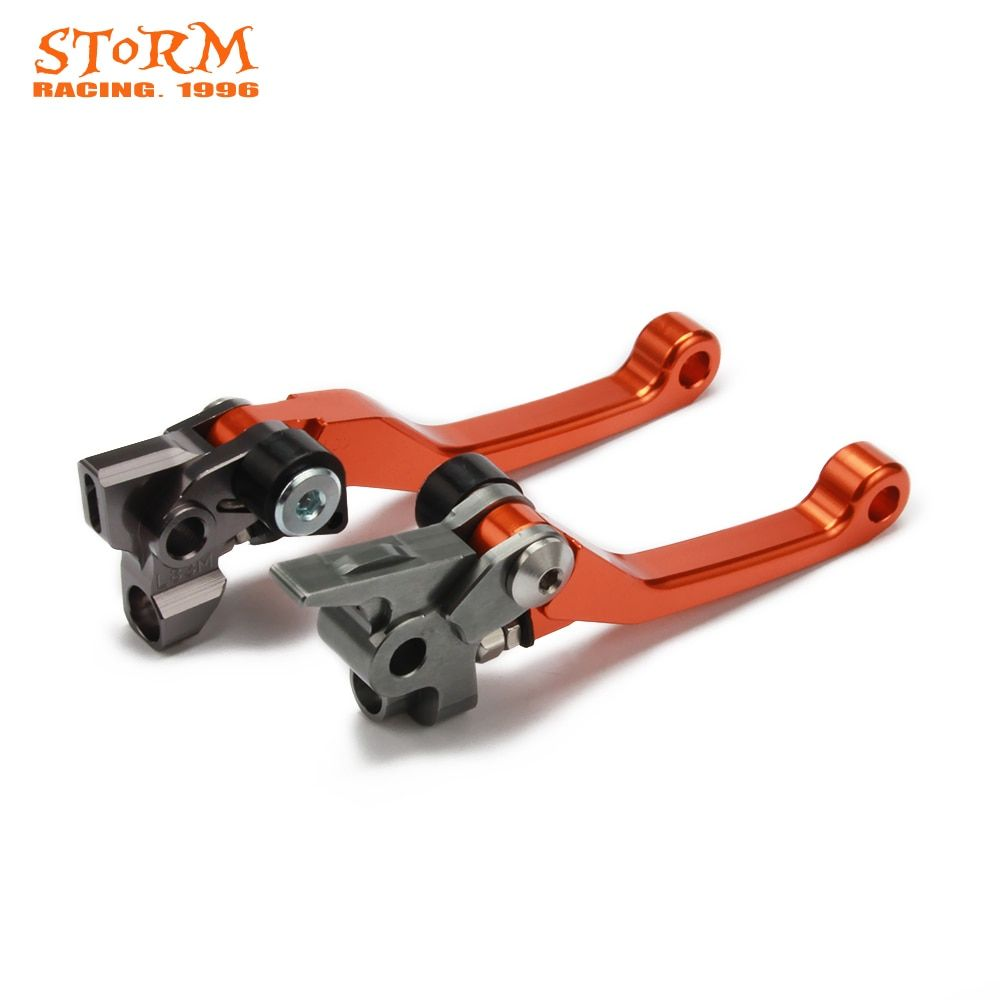 Pivot Dirt Foldable Brake Clutch Levers For KTM SX XC EXC EXCF SXF SXR XCW XCFW XCRW 125 144 200 250 300 350 450 500 2016 2017