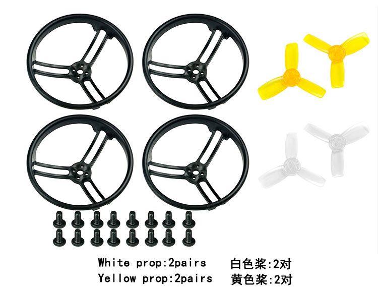 2,3 zoll 2345 Propeller Prop Schutzfolie Stoßstange für KingKong Drone Quadcopter Alle Surround F21480