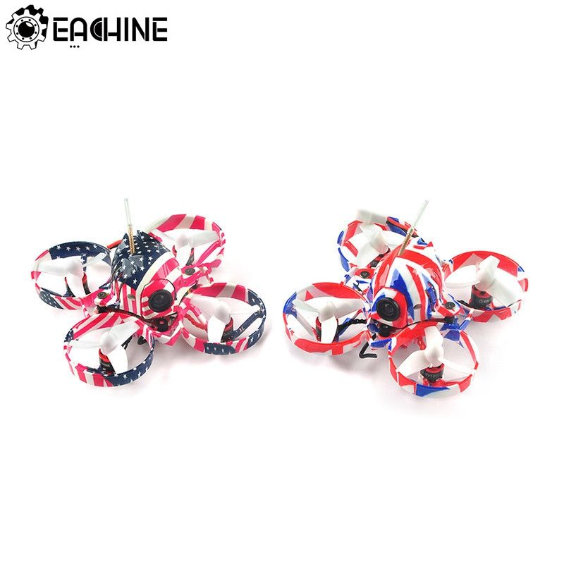 Eachine US65 UK65 65mm Whoop FPV Racing Drone BNF Crazybee F3 Flight Controller OSD 6A Blheli_S ESC