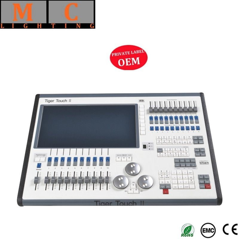 Tiger touch dmx controller V11 Tiger Touch II 2 Beleuchtung Konsole Tiger Touch dmx konsole mit flycase