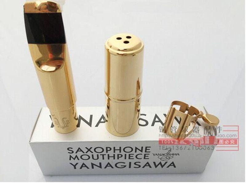 wholesale Price 0EM Yanagisawa Metal mouthpiece Alto sax / tenor Saxophone / Soprano saxofone 5--9 number Free shipment