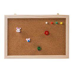 Пробковая деревянная доска для сообщений Phellem Корк деревянный толчок Pin висячая доска деревянная рамка один мягкий мягкая настенная доска д...