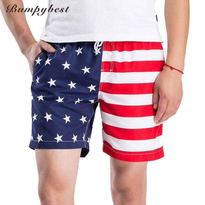 Bumpybeast Beach Swimsuit Homens EE. UU. Hombre Pantalones Cortos de Secado Rápido Beach Shorts traje de Baño de Marca Pantalones Cortos Boardshorts de Vacaciones