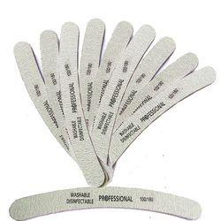 10 pcs Professionnel Lime À Ongles Ponçage Tampon Polonais Ponçage Nagels Nail Manucure Outils Aléatoire Outil Acrylique Fichier Nail Art Bloc