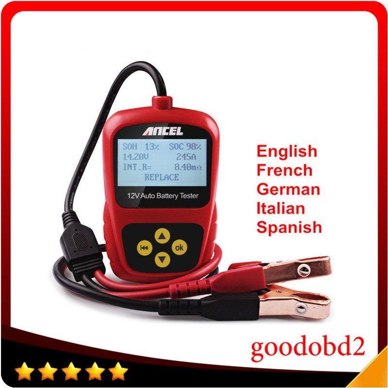 Handwerkzeug ANCEL BST200 BST-200 12 Volt Auto Fahrzeug Boot Motor Batterie Analyzer Tester Direkt Erkennen Schlechte Auto Batterie CCA
