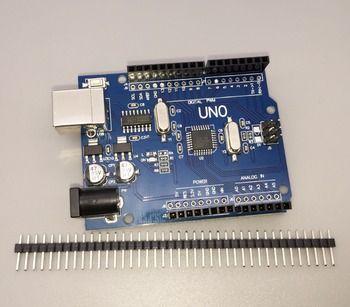 Haute qualité Un ensemble UNO R3 CH340G + MEGA328P pour Arduino UNO R3 (PAS de CÂBLE USB)