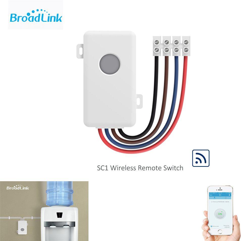 Contrôleur Wifi Broadlink SC1 Modules domotique intelligents IOS Android téléphone APP sans fil Wifi commutateur de télécommande 100-250 V