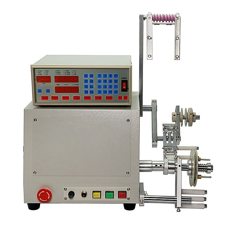 LY 810 New Computer C Automatic Coil Winder Winding Machine for 0.03-1.2mm wire