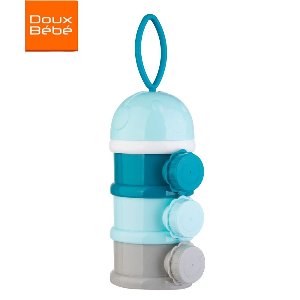 Portable Baby Milk Powder Formula Dispenser Container for Storage Food Snack Storage Pots infant Supplies Separate Sub-box