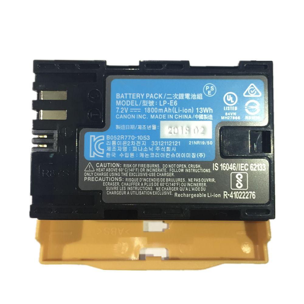 LP-E6 LPE6 lithium batteries pack LP E6 Digital camera battery For Canon EOS 5DS 5D Mark II Mark III 6D 7D 60D 60Da 70D 80D 5DSR