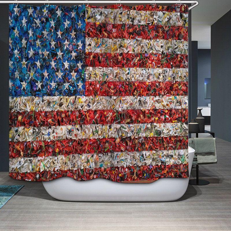 New Arrival Shower Curtain Home Decorative England Creative Retro elegant  theme pattern 0249 Waterproof Bathroom Fabric