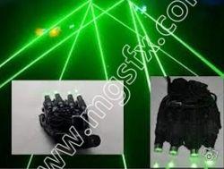 Sarung tangan Laser laserman robot kostum, Rgb Laser sarung tangan