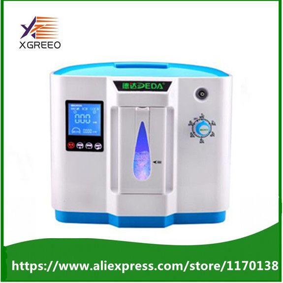 Neue 90% krankenhaus verwenden medizinische tragbare sauerstoffkonzentrator generator home mit einstellbarer 1-6LPM einstellbare oxygen reinheit
