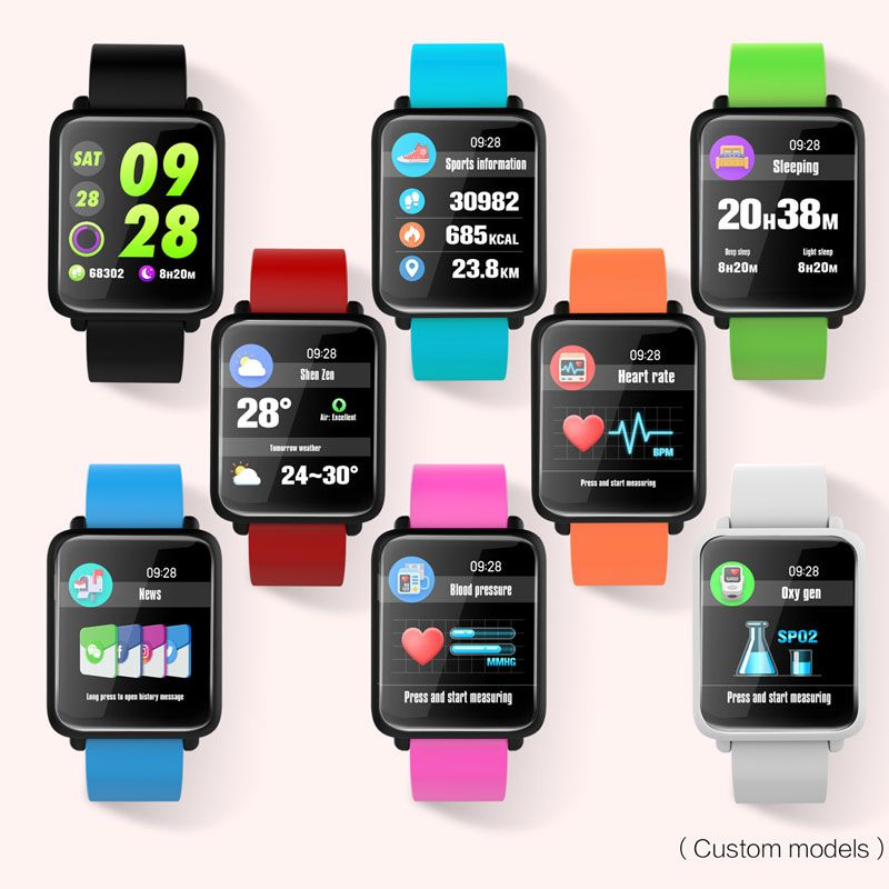 BOAMIGO Bluetooth Smart Watch Fashion Smart Wristband Call Message Reminder Pedometer Calorie For IOS Android Phone Call Relogio