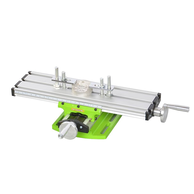 Miniature precision multifunction Milling Machine Bench drill Vise Fixture worktable X Y-axis adjustment Coordinate table