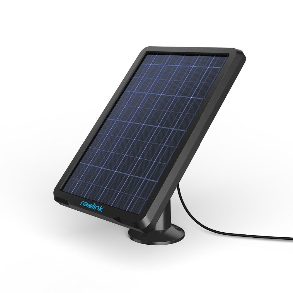 Reolink Solar Panel for Reolink Argus 2, Argus Pro and Go Rechargeable Battery Powered IP Security Camera