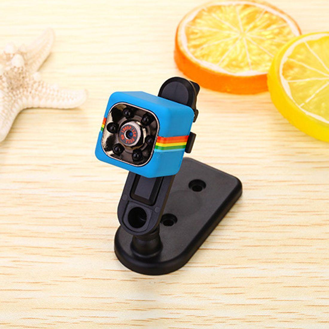 HONGDAK Cute Mini Camera SQ11 HD 1080P Camcorder HD Night Vision Mini Camera Aerial Sports Mini DV Voice Video Record