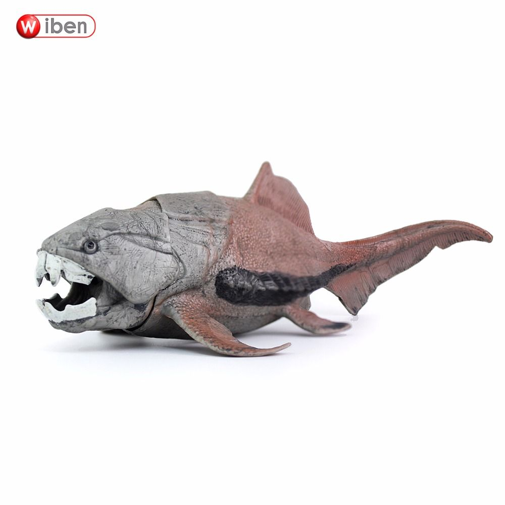 Wiben Dunkleosteus Sea Life Dinosaur Toys Animal Model Collectible Model Toy Learning & Educational Boy Gift