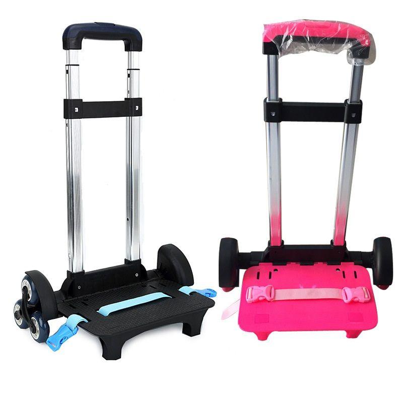 3 Wheel Fold Pull Rod Bracket Roll Cart Trolley ,mochila infantil rodinha mochilas school kids,School Bags easy climb the stairs