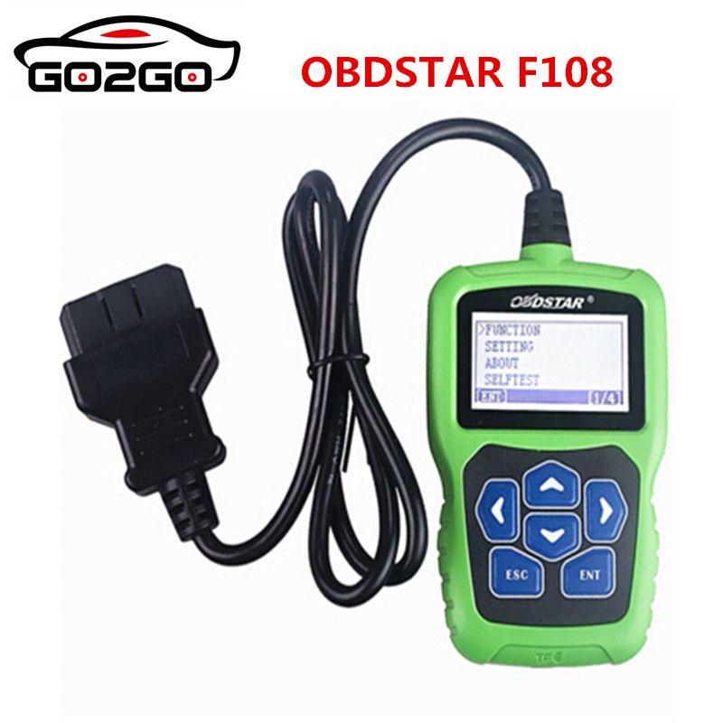 Heißer Verkauf OBDSTAR F108 + PSA PIN-CODE Lesen F108 Plus Auto Schlüssel Programmierung Werkzeug für Peugeot/Citroen/ DS