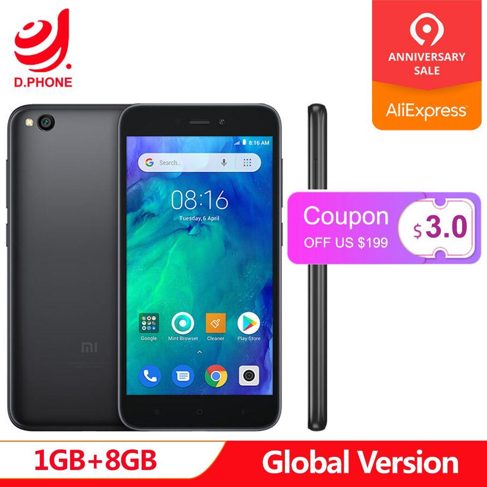 Original Global Version Xiaomi Redmi GO 1GB 8GB Phone Snapdragon 425 Quad Core 5.0