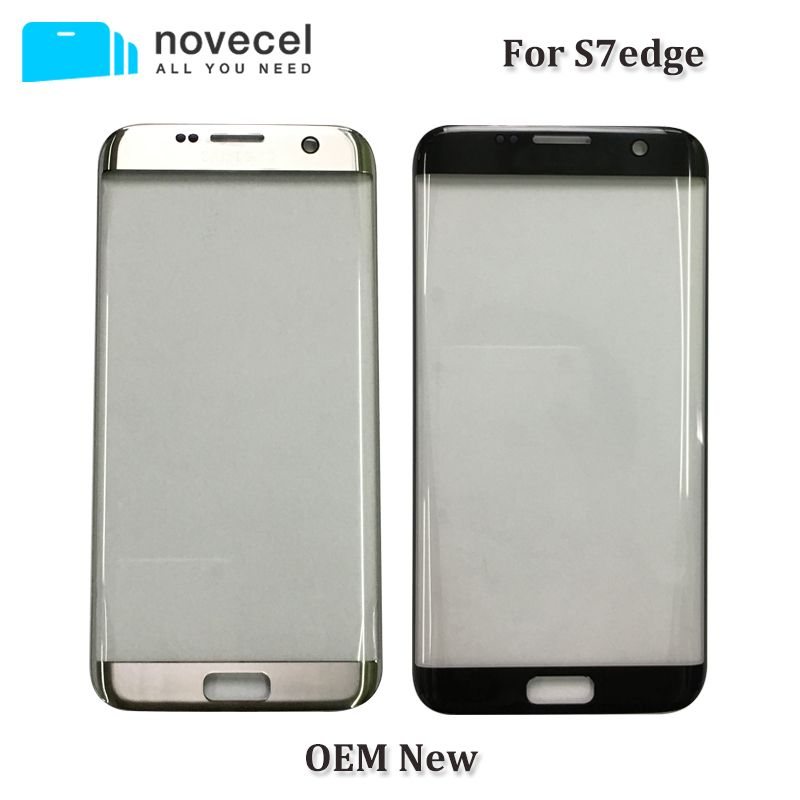 Novecel OEM N G935 Front Glass Lens For Samsung s7 edge s7edge LCD display outer touch panel screen glass replacement