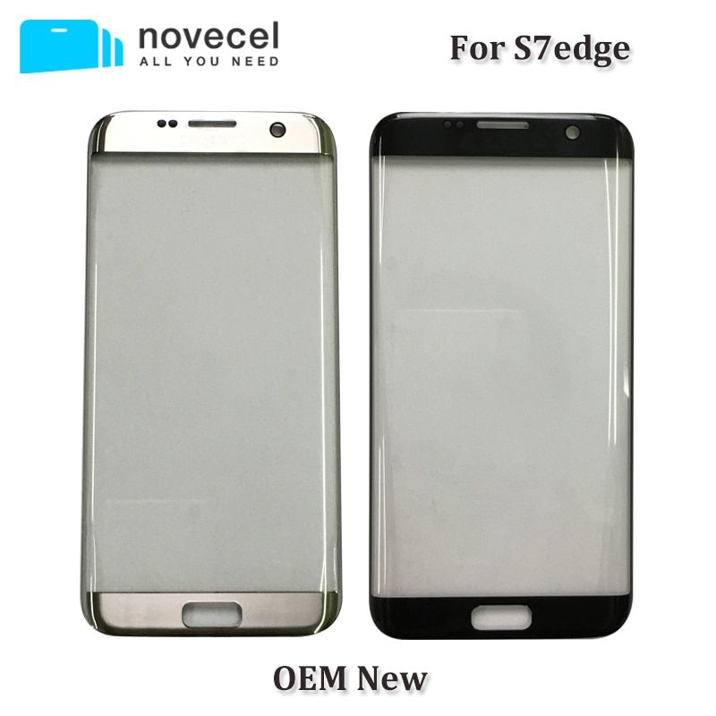 Novecel OEM New G935 Front Glass Lens For Samsung S7 edge S7edge LCD Display Outer Touch Panel Screen Glass Replacement