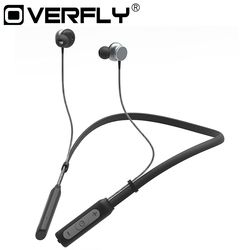Bluetooth Headphones Hi-Fi Stereo Wireless Headphones Magnetic Earbuds Ultra Flexible Neckband Sports Sweatproof With Mic