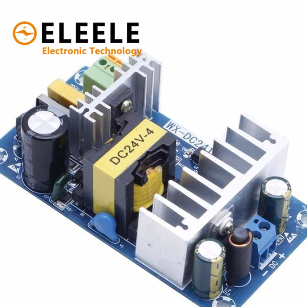 Power Supply Module AC 110v 220v to DC 24V 6A AC-DC Switching Power Supply Board 828 Promotion PN35