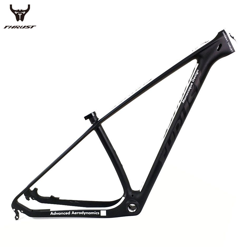 THRUST Carbon Frame 29er Chinese Carbon mtb Bicycle Frame 15 17 19 T1000 Carbon Fibre Bike Frame 27.5 Maxmun load 250kg 8 color