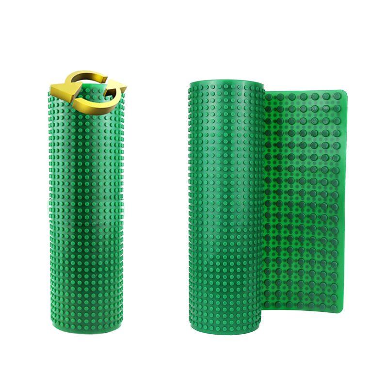 Double plaque de Base souple pour blocs de construction de grande/petite taille Compatible LegoED DuploED bricolage 31*81cm plaque de Base jouets pour enfants